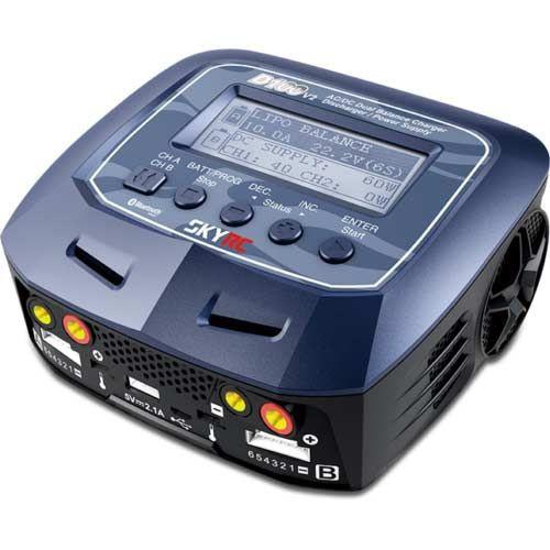 SKYRC D100 V2 2x100W 12/220V 1-6S