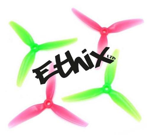 HQProp Ethix S3 Watermelon | 5 x 3.1 x 3 Freestyle Prop - 4 pcs. set