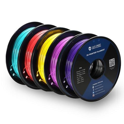 SAIN SMART TPU FILAMENT CYBERPUNK Colours   1.75MM - 1KG (NET 0.8KG)
