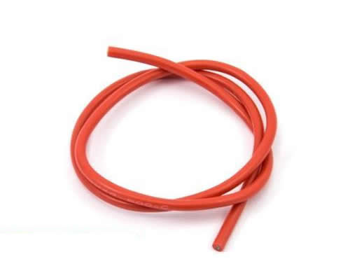 14AWG Cable 1M RED