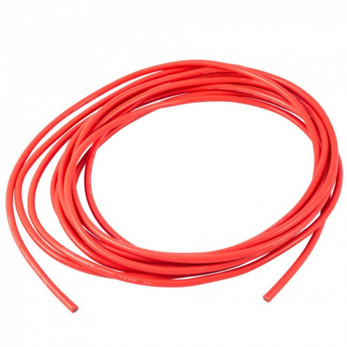 22AWG Cable 1M RED