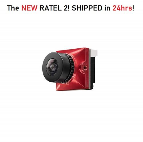 Caddx Ratel 2 Micro | 1200TVL FPV Freestyle Camera - BLACK
