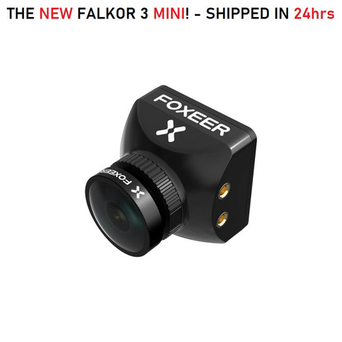 Foxeer Falkor 3 MINI - 1200TVL BLACK