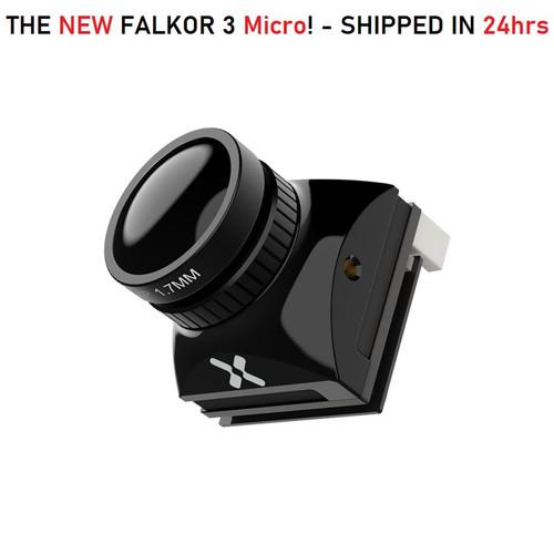 Foxeer Falkor 3 MICRO - 1200TVL BLACK