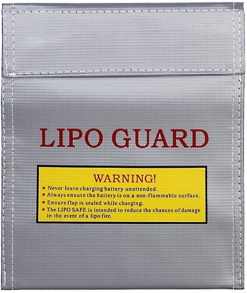Lipo Guard | 230 X 300 Lipo Bag for Safe Charge, Travel & Storage