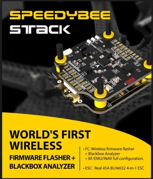 SPEEDYBEE STACK | F7 FC + 45 Amp ESC | Configurazione Wireless