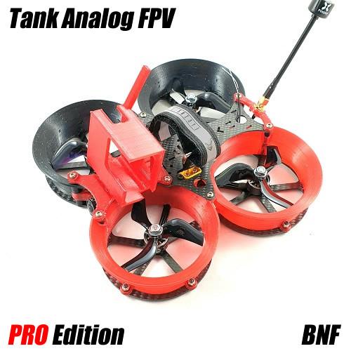 TANK 6S BNF PRO | Analog FPV 1000 mW CINEWHOOP Bind N Fly