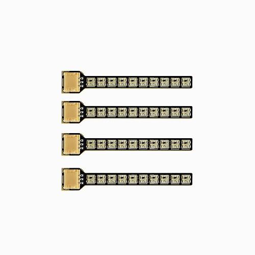 ZEEZ LED STRIP RGB - 4PCS