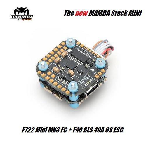 Mamba Stack Basic F722 Mini MK3 | FC + 40A BLS 6S ESC