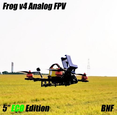"Frog V4 5"" ECO Edition | Bind N Fly per FPV Analogico"