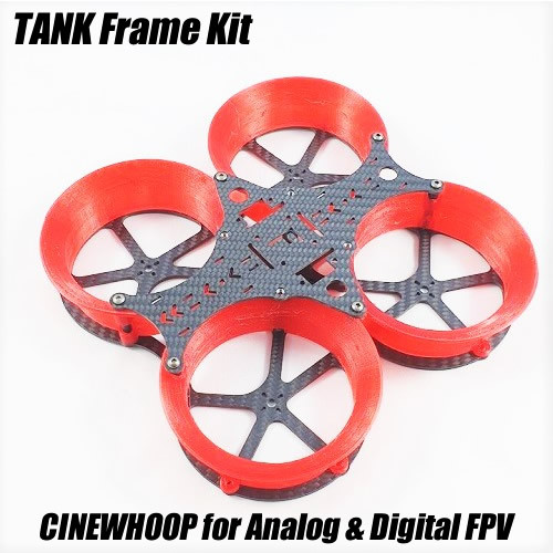 TANK Frame Kit | CINEWHOOP for Analog & DJI Digital FPV Gears