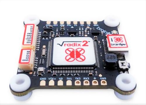 RADIX 2 | BrainFPV H7 High End Professional Flight Controller
