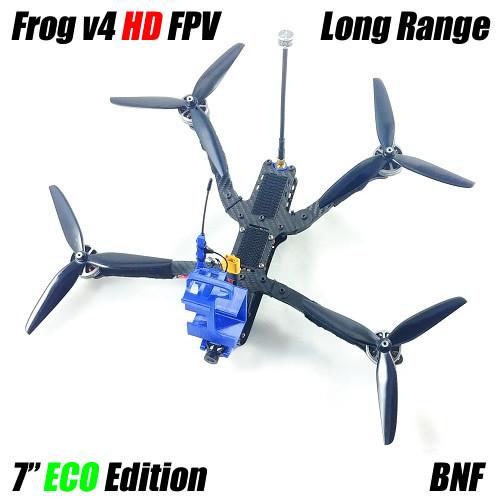 "Frog V4 Long Range 7"" ECO HD | Bind N Fly DJI Digital FPV"