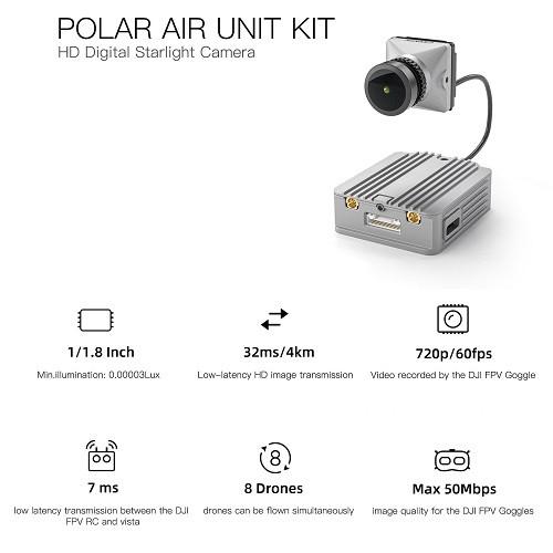 Caddx POLAR Air Unit | Sistema FPV DIGITALE