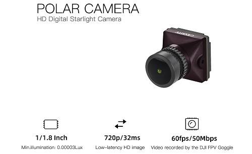 Caddx POLAR | Camera per Sistema FPV DIGITALE
