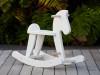 Rocking Horse - White