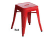 Industrial Stool - Small - Red