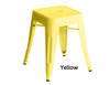 Industrial Stool - Small - Yellow