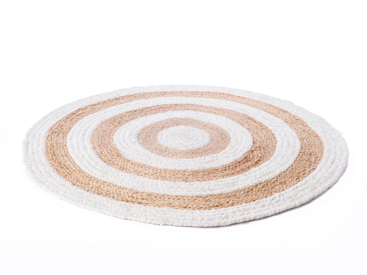 Mocka Circa Rugs Woven Rug Floor Mat Round Rugs Black Rugs White Rugs Denim Rugs Bedroom Decor Interior Decor Contemporary Decor Home Decor Soft Furnishings Rugs