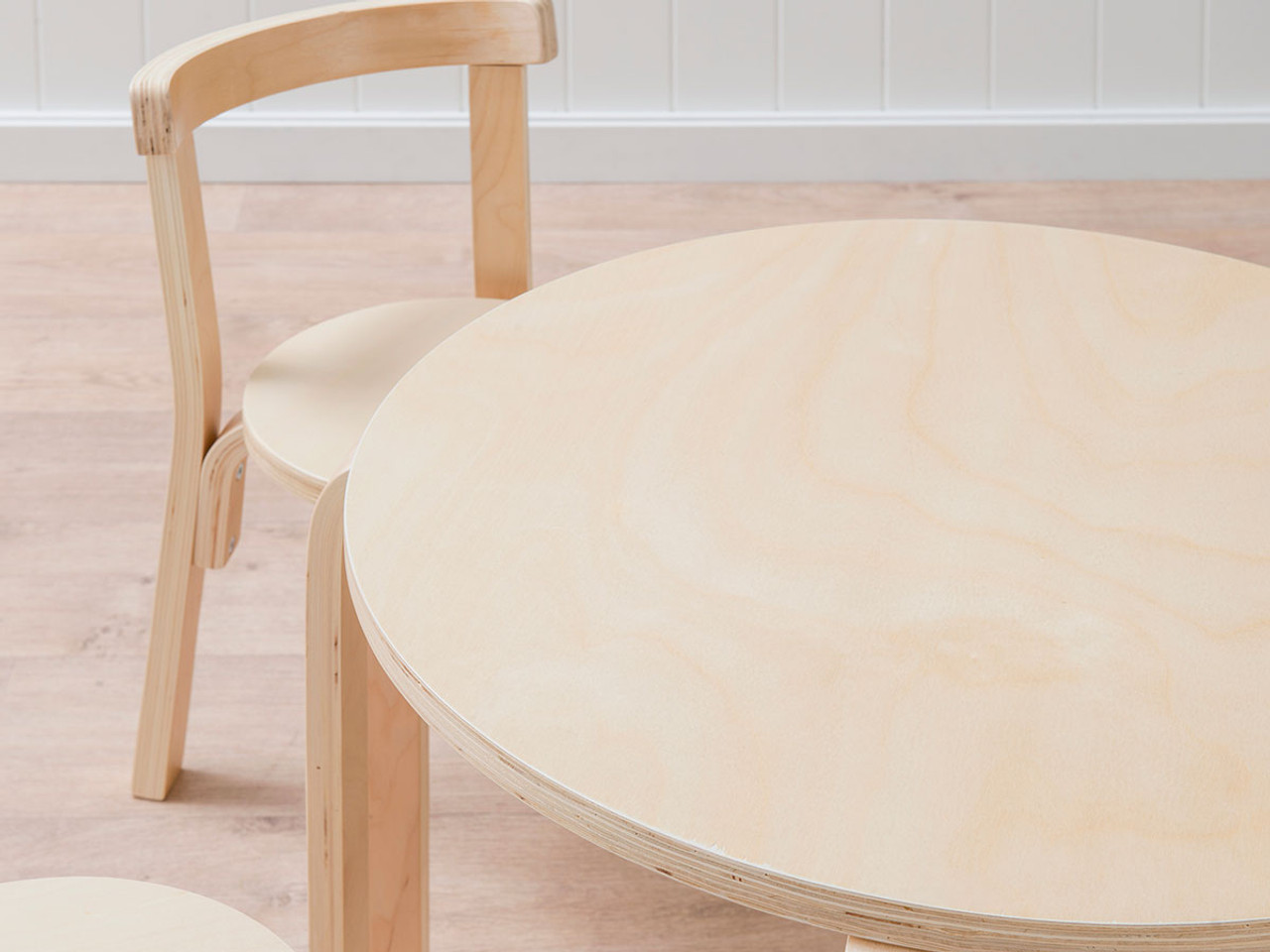 Picture of: Mocka Hudson Kids Table And Chairs Set Natural Children S Furniture