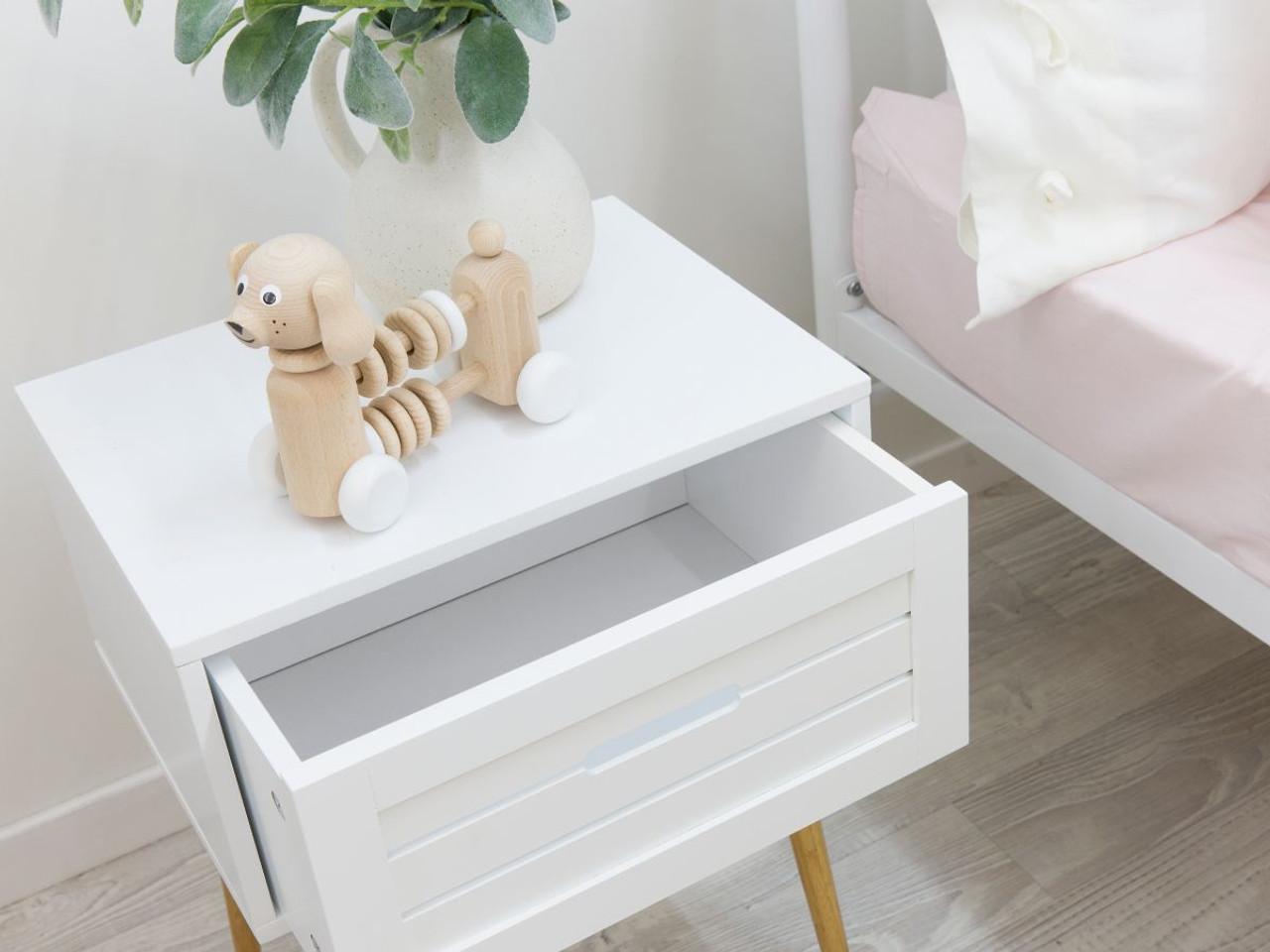 Picture of: Mocka Maya Bedside Table Side Tables Mocka