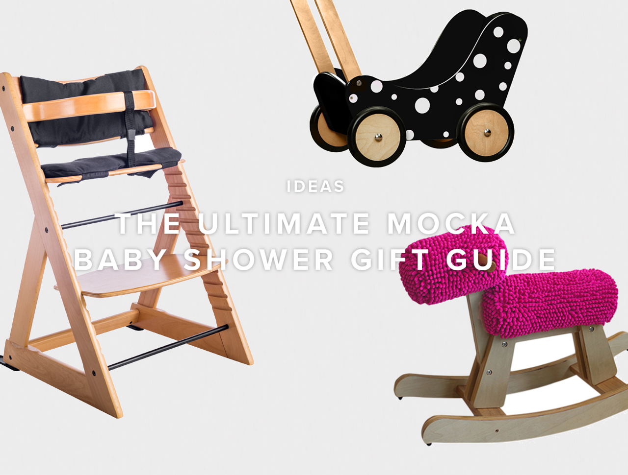 The Ultimate Mocka Baby Shower Gift Guide