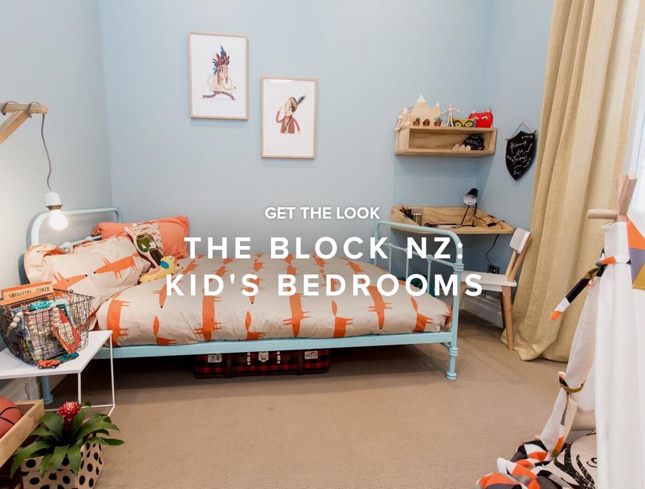 Get the Look: The Block NZ - Kid's Bedrooms