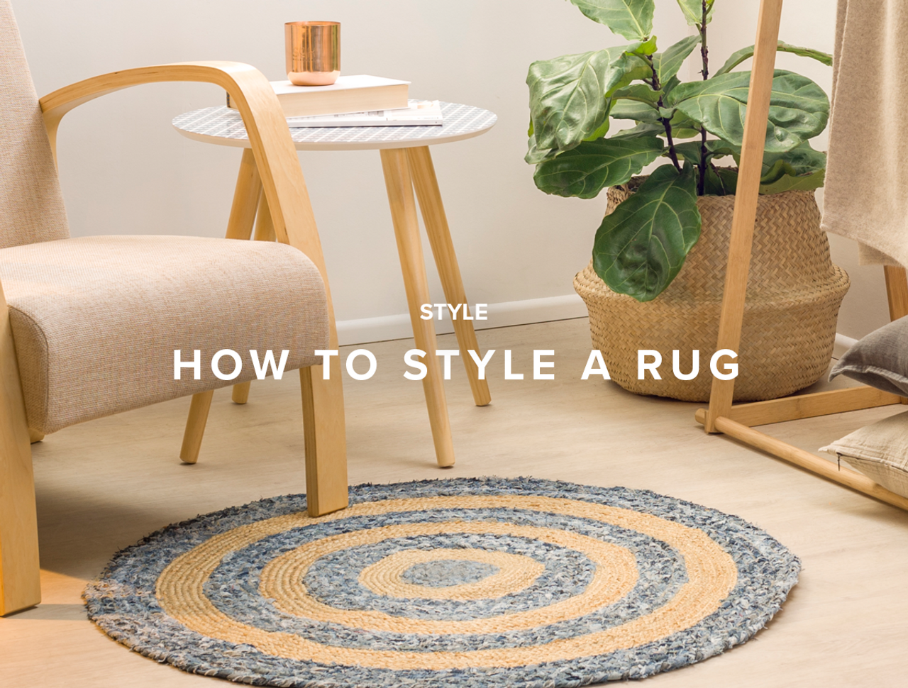 How to Style a Rug