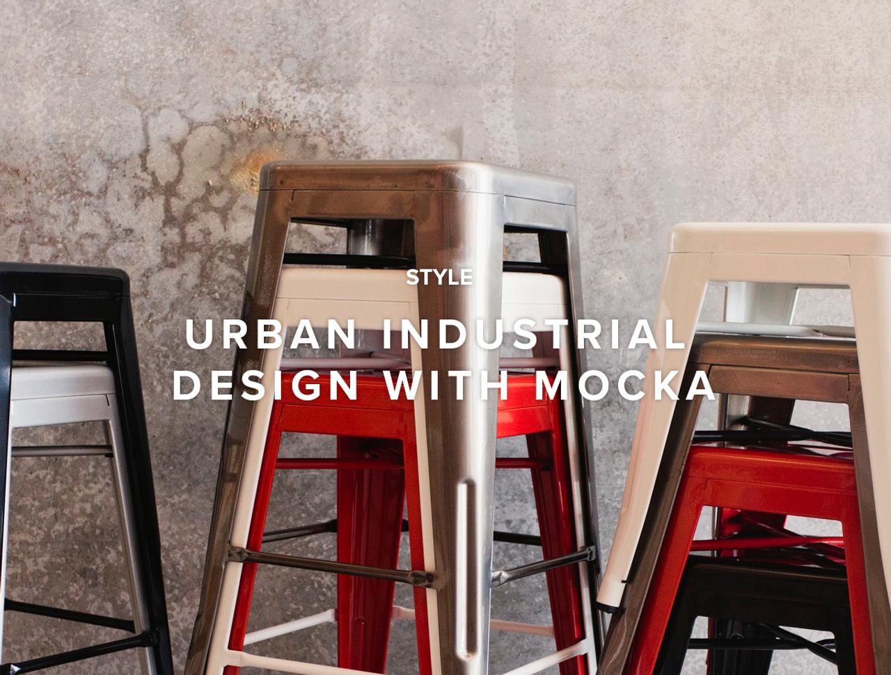 Urban Industrial Design With Mocka