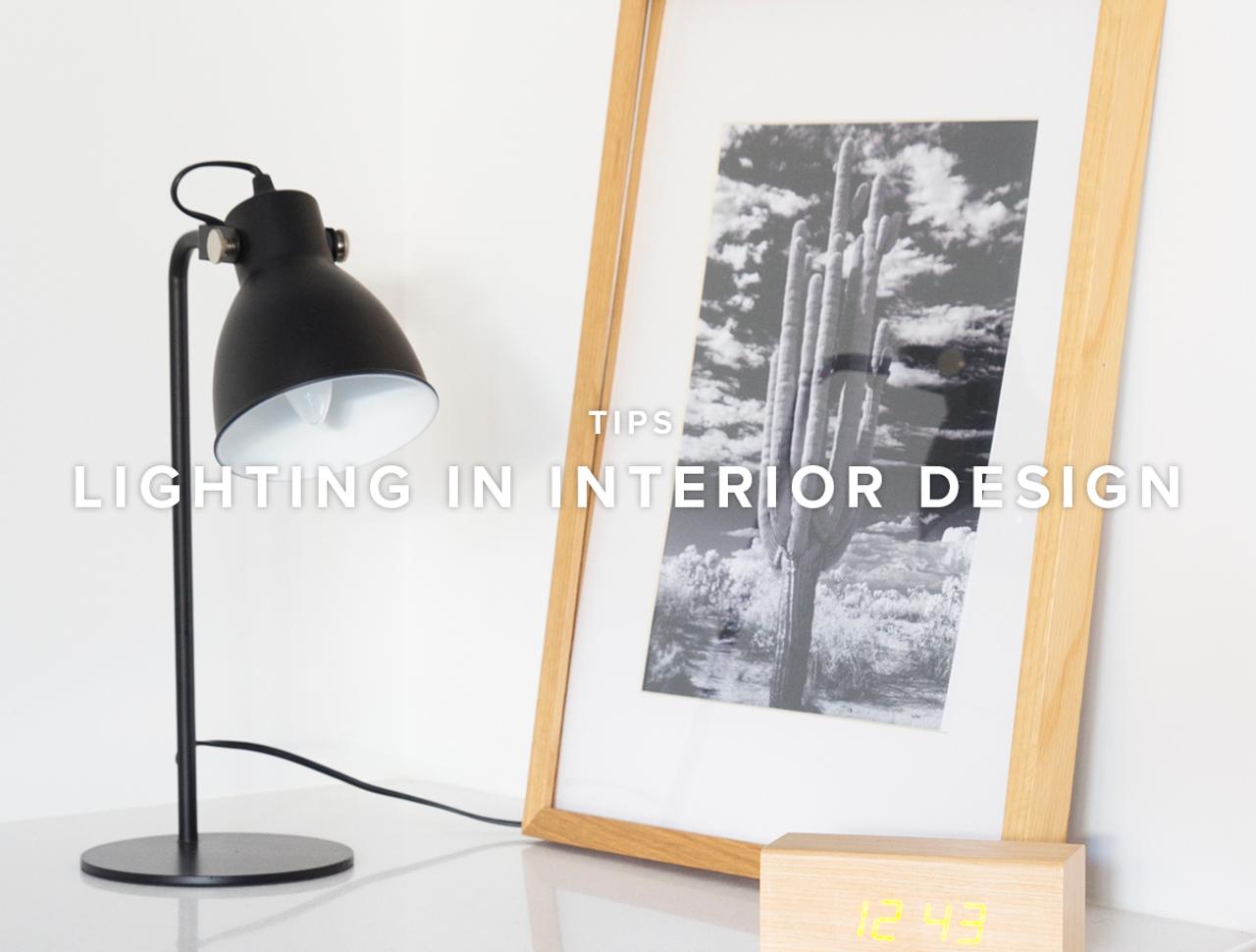 Lighting in Interior Design
