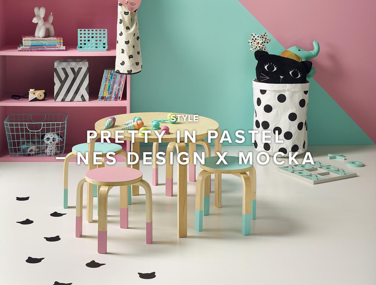 Pretty in Pastel – Nes Design X Mocka