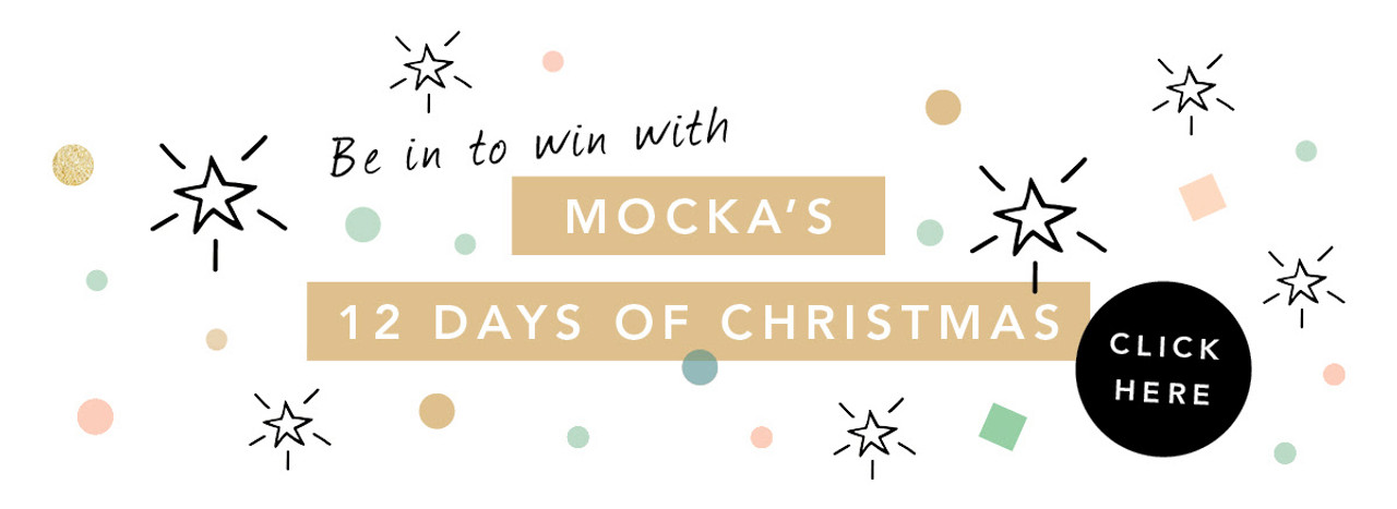 Be in to Win with Mocka's 12 Days of Christmas!