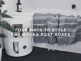Four Ways to Style the Mocka Post Boxes