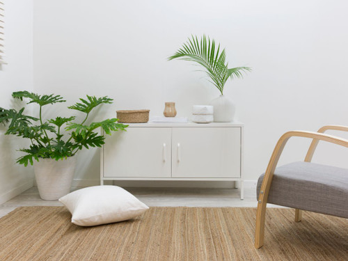 Locka Console Table - White