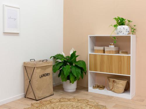 Mocka Essentials Small Bookcase - Natural