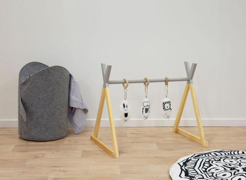 Felix Wooden Playgym - Grey