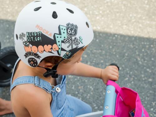 Kids Helmet - White