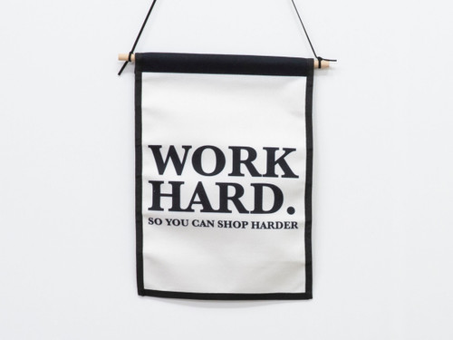 Small Wall Art Hanger - Work Hard