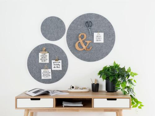 Elliot Pinboard - Set of 3 - Grey