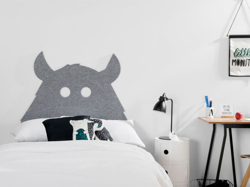 Monster Felt Headboard