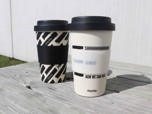 Bamboo Coffee Cup - Shhh