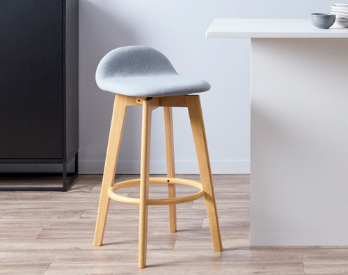 Livi Bar Seat - Light Grey
