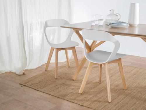 Jasper Dining Chair - White