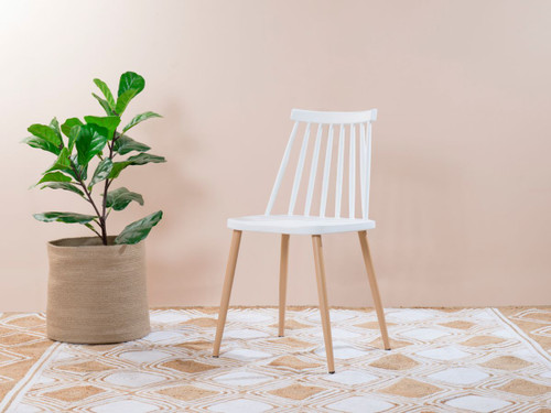 Flynn Dining Chair - White