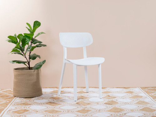 Mila Dining Chair - White