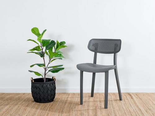 Mila Dining Chair - Grey
