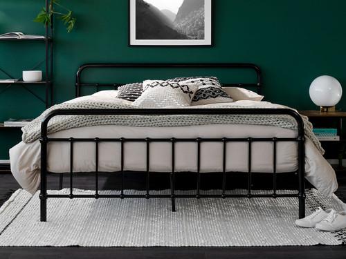 Sonata Bed - Queen - Black