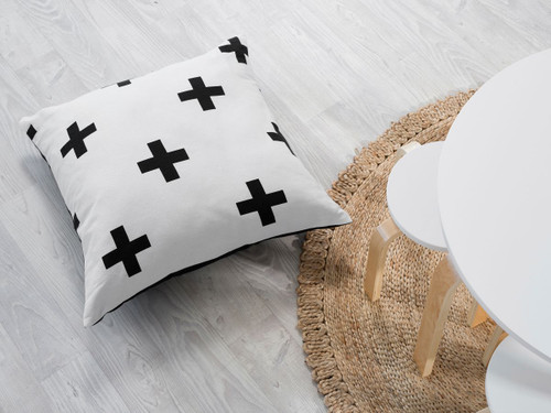 Henley Cushions - Monochrome Cross