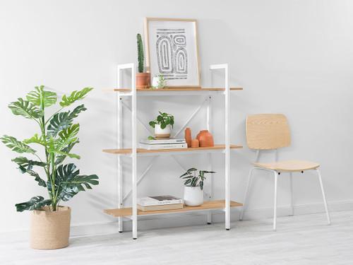 Porto Small Bookcase - White