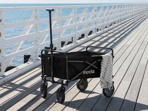 Mocka Beach Cart - Black